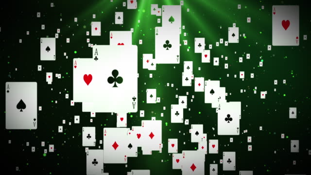 Poker Cards (Loopable) video