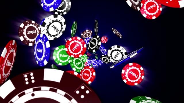 Poker Chip Animation