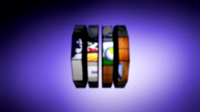 Poker Text in Slot Machine Combination video