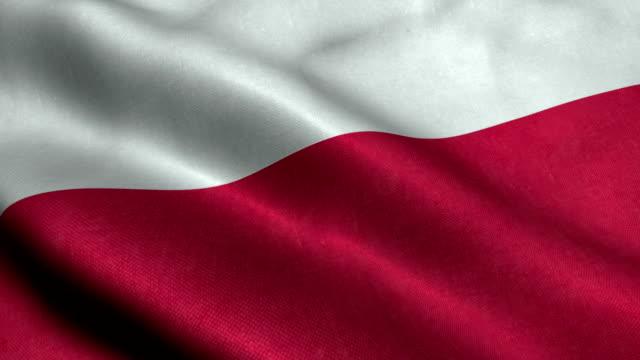 Poland Flag video