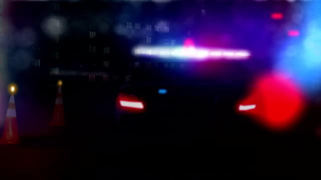 Police Car HD Video Loop video
