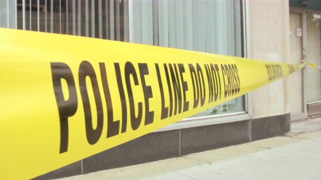 policja linii, nie krzyż - zachodnie pismo filmów i materiałów b-roll