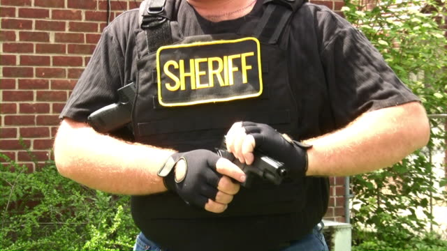 Police officer, sheriff, s.w.a.t., arrest, crime. video