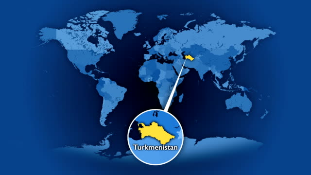 vídeos de stock, filmes e b-roll de mapa político part_2 selecionados aleatoriamente, 85 países e territórios, loop. - país área geográfica