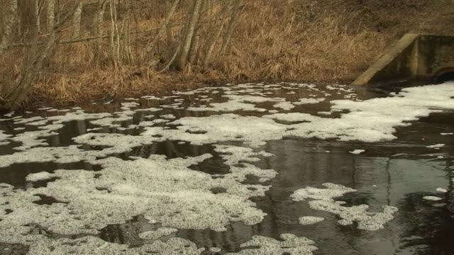 Polluted River video