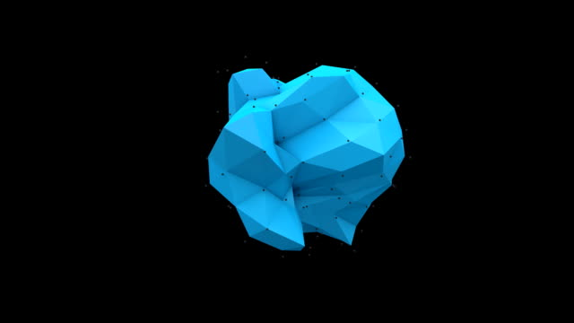Polyhedral Blue on Black video