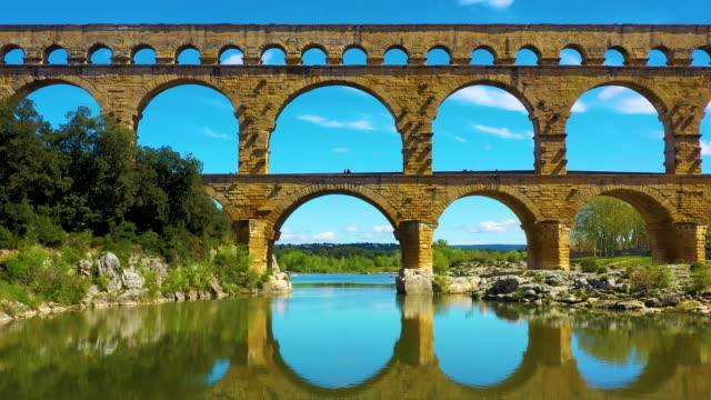 pont du gard, famous site touristic in france