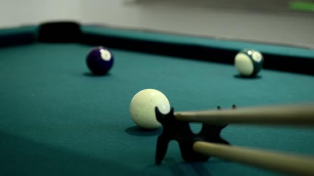 Pool and billiard game video