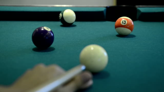 Pool and billiard game video