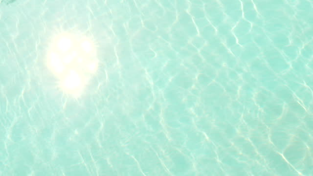 Pool water background video