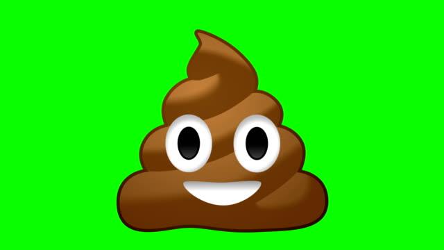 poop emoji - emoji video stock e b–roll