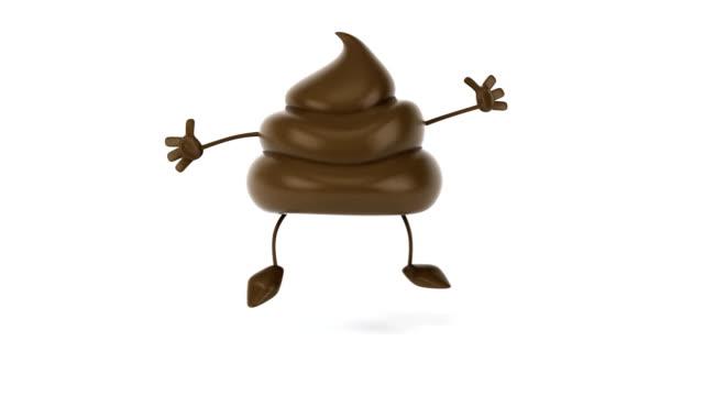 Poop jumping video