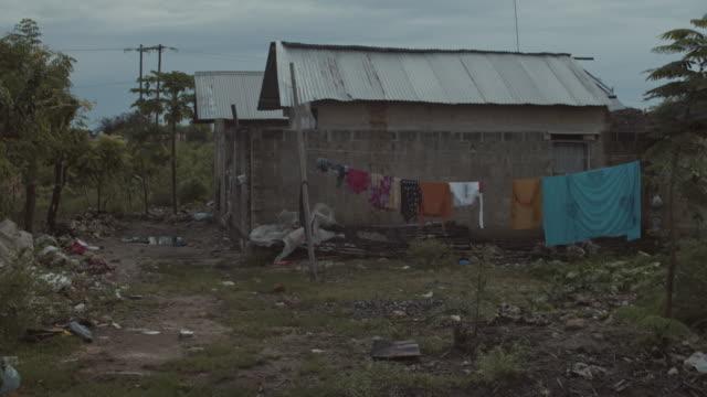 LS Poor village in Tanzania