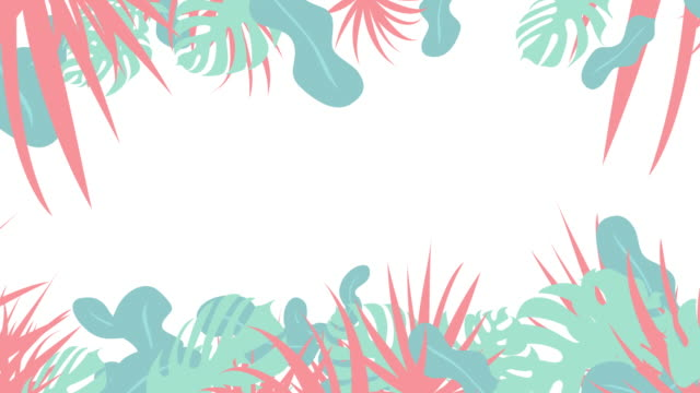 pop botanical graphics[loop] natural and organic themes are best match. flat and cute. summer illustrations videos stock videos & royalty-free footage