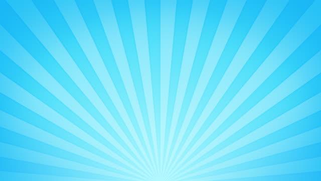 ポップ・集中ラインとコンフェッティスと星[ループ] - 線点の映像素材/bロール
