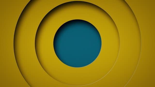 Pop up circle animation background