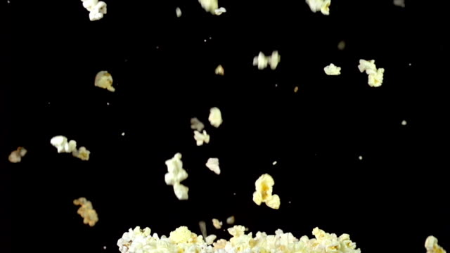 Popcorn Explosion Slow Motion video