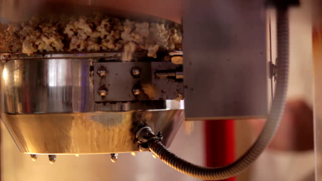 Popcorn making video