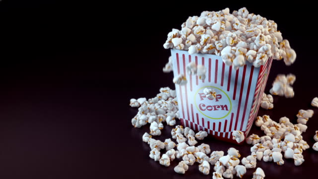 stockvideo's en b-roll-footage met popcorn time - popcorn