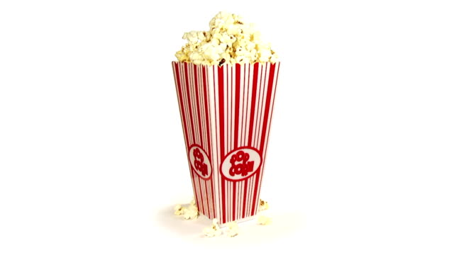 stockvideo's en b-roll-footage met popcorn (hd 1080p) - popcorn