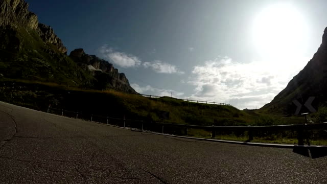 Pordoi Mountain Pass, Dolomites, Italy video