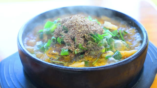 Pork on the Bone Soup , korean food video