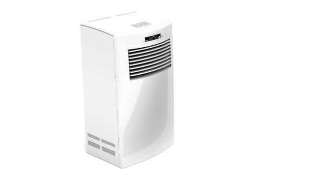 ポータブルエアコン - 加湿器点の映像素材/bロール