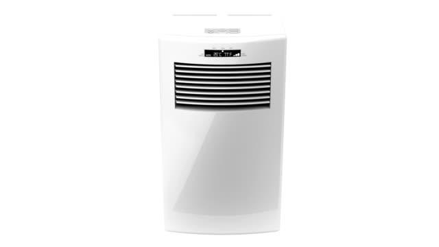 携帯用エアコン - 加湿器点の映像素材/bロール
