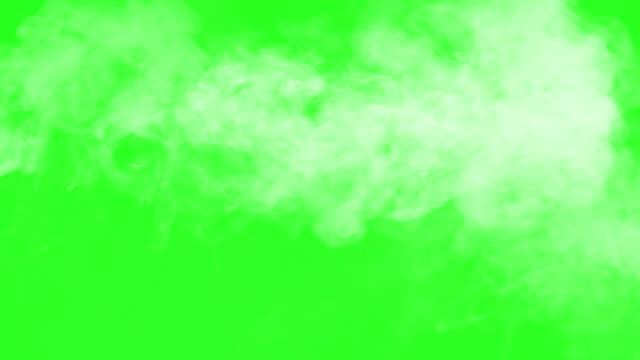 Portion White Smoke Floats Right