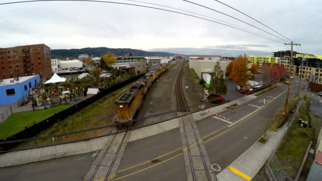 Portland Aerial Freight Train video