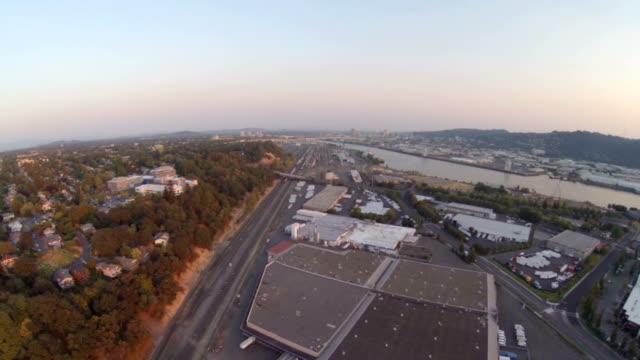 Portland Aerial Industrial. video