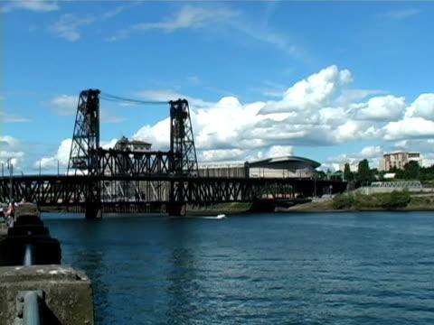 portland bridge - 建築物特徵 個影片檔及 b 捲影像