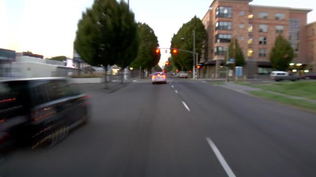 Portland City Driving 10 Evening video