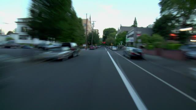 Portland City Driving 12 Dusk video