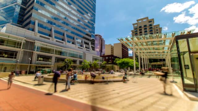 Portland Downtown Square video