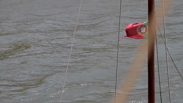 Porto bandeira barco