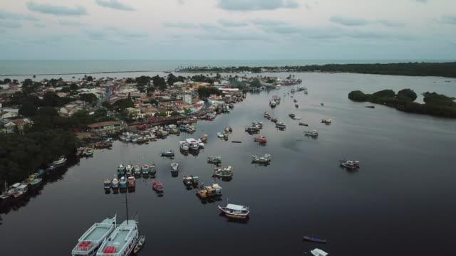 vídeos de stock, filmes e b-roll de porto seguro porto, na bahia, brasil - nordeste
