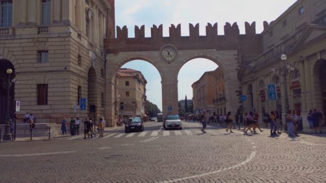 Portoni della Bra in Verona in Italy