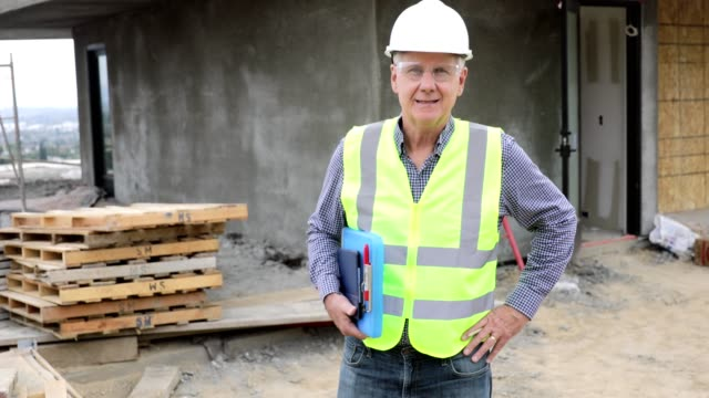 Portrait of a Construction Manager