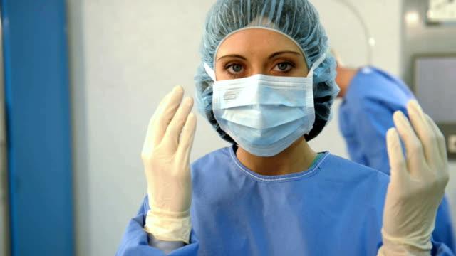 Portrait of A Female Surgeon; HD Photo JPEG video
