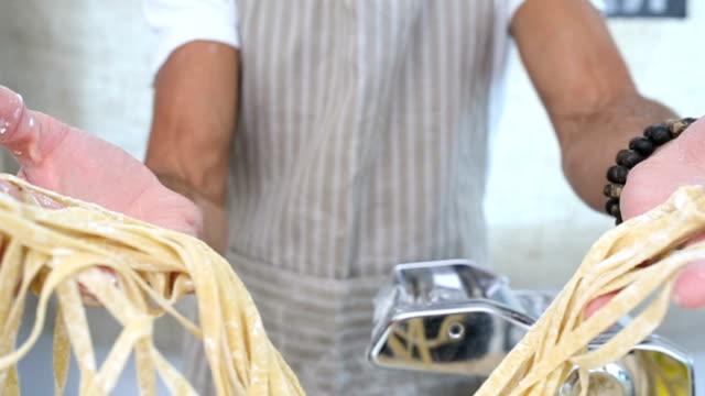 Portrait of a Pasta Maker video