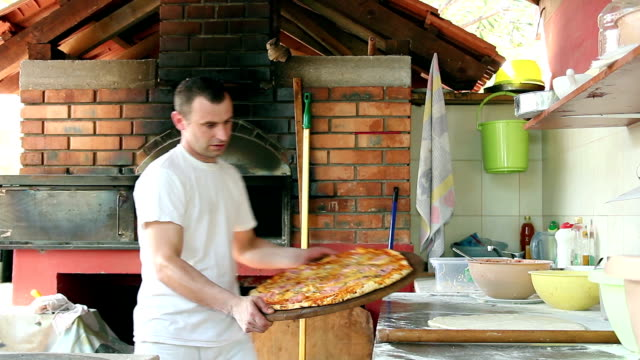 Portrait of a Pizza Chef video