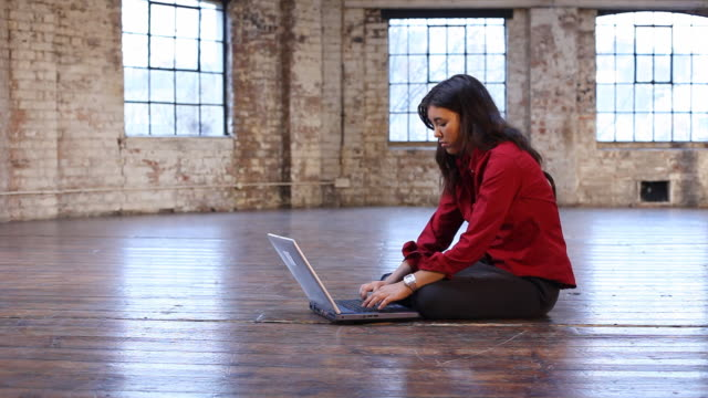 Portrait of a young professional woman video
