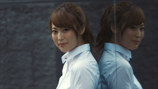 Portrait of an Japanese Businesswoman - video
