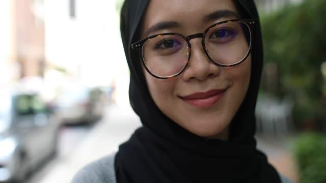 Portrait of Beautiful Malaysian girl