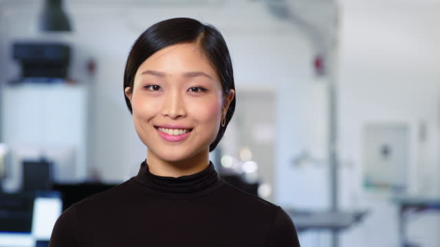 Portrait of beautiful young asian businesswoman