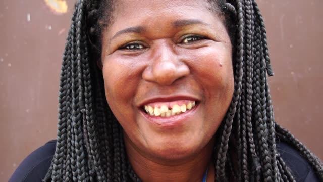 Portrait of Brazilian Woman video