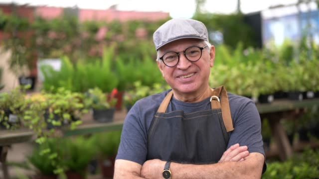 Portrait of Garden Market Employee / Owner video