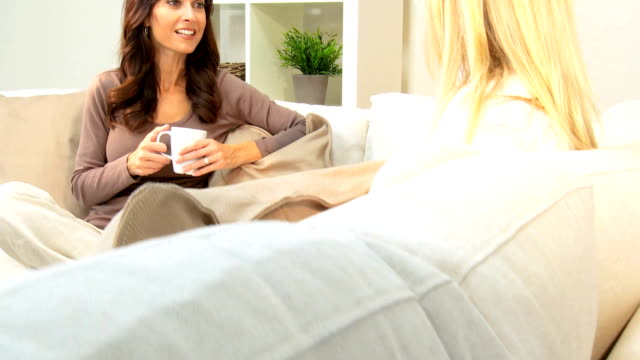 Portrait of Girlfriends at Home video