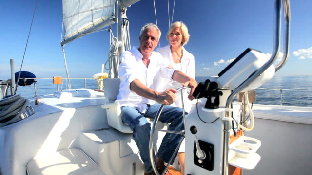 Portrait of Healthy Senior Couple video